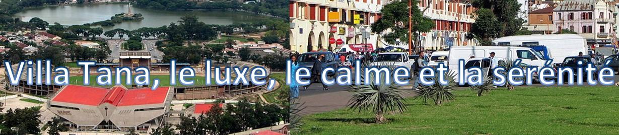 Tananarive Madagascar : Location de Villa meublée de standing, avec piscine et dépendance