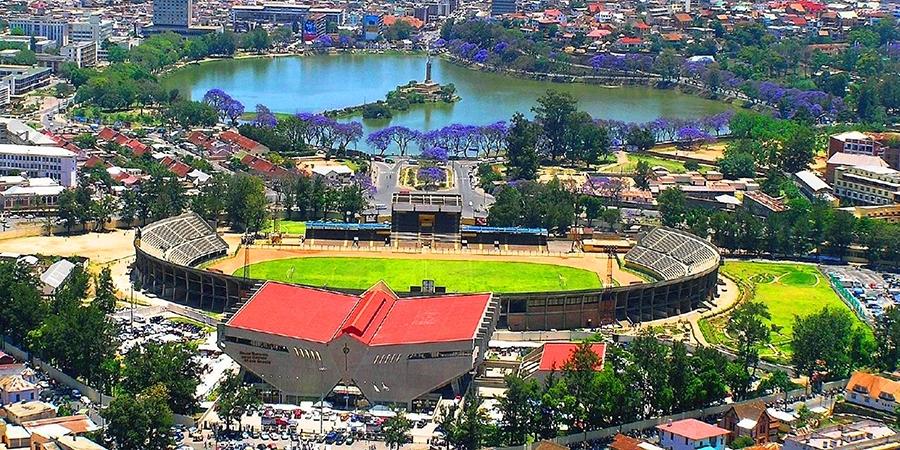 Antananarivo mahamasina municipal stadium