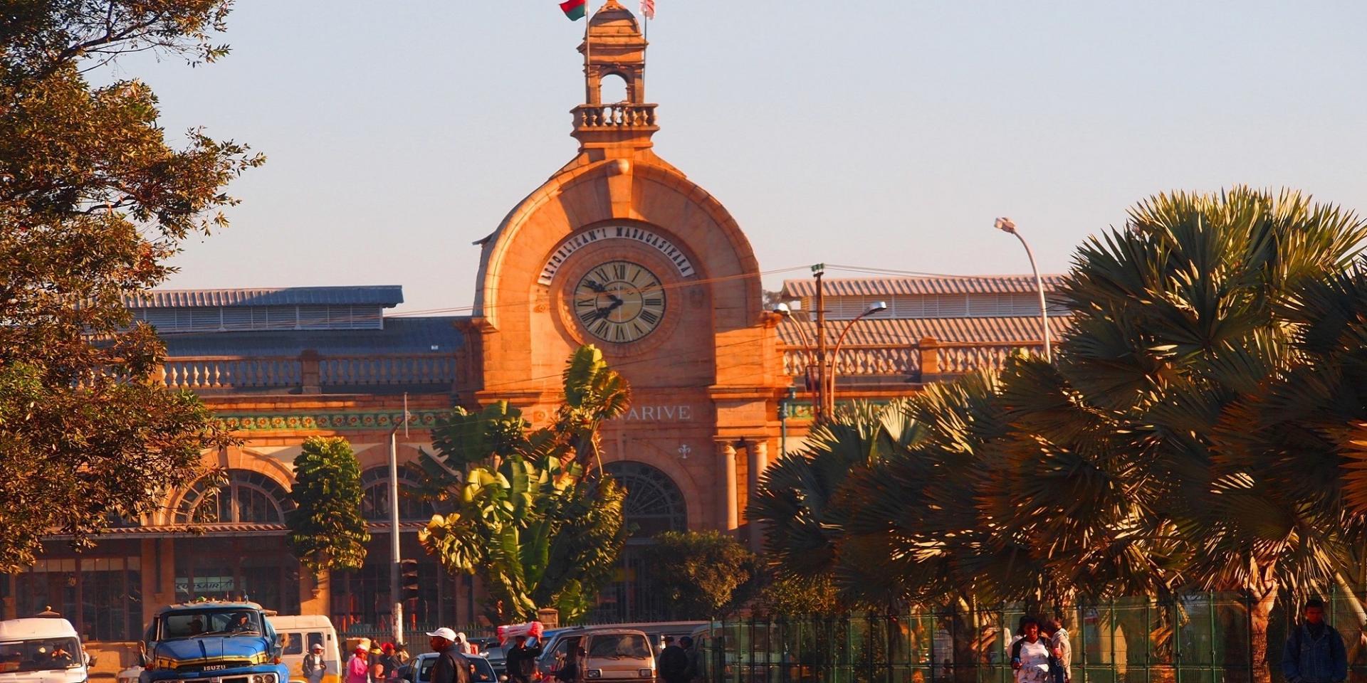 Soarano train station antananarivo madagascar